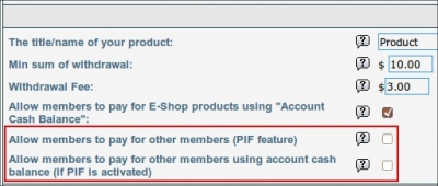 PIF feature is added to MLM Builder Script SHOP+ version