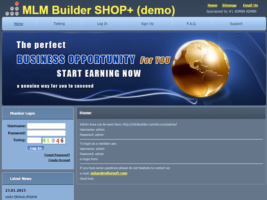 Layout in MLM Builder Script Shop+ DEMO is updated